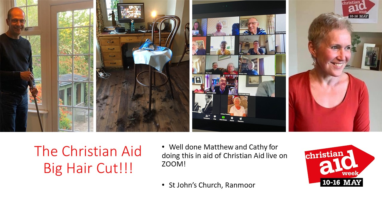 The Christian Aid Big Hair Cut